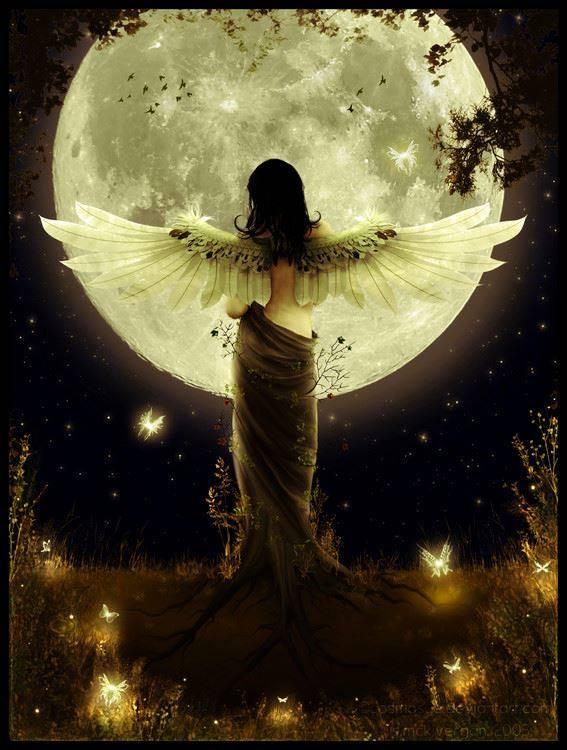 Mond Meditation, für deinen Herzens Flow